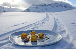 Slope food (Photo www.altabadia