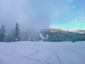 Monte Abetone questa mattina (Photo courtesy of Corpo Forestale dello Stato/Dipartimento Nazionale della Protezione Civile/NeveMont)