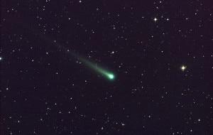 La cometa Ison fotografata dall'osservatorio Marshall della Nasa, l'8 novembre 2013. (Photo: Aaron Kingery, Msfc/Nasa)