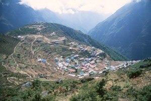 File photo of Khumbu region, file photo. Source: internet