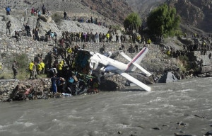 A file photo of Jomsom aircraft crash that took place in May 16, 2013 in mountainous district Mustang.