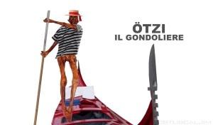 Ötzi gondoliere (Photo courtesy of Pagina Facebook Ötzi Superstar)