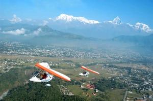 A view of Pokhara. Photo: www.lekhnath.com