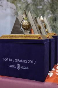 I premi del Tor des Geants 2013 (Photo Enrico Romanzi courtesy of www.tordesgeants.it)