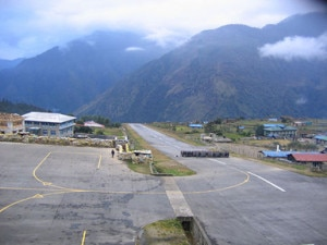 A deserted look of Tenzing-Hillary Airport in Lukla. Photo: File photo