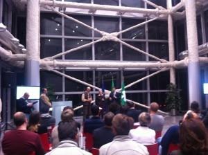 Antonio Rossi alla cerimonia di consegna dei diplomi delle Guide alpine Lombardia