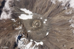 Kilimanjaro (ohoto courtesy Nasa)