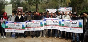 Mountain ecofriendly walk - organizzato nell'ambito del Pakistan Mountain Festival