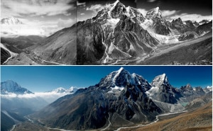 The changing scenario of the mountains are showing the impacts of changing climate. Photo: File/my.opera.com