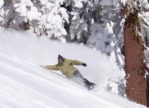 Snowboarding - John Hammond a Lake Tahoe (Photo wikipedia commons)