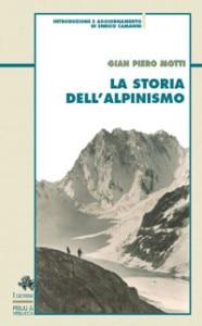 Storia dell'alpinismo di Piero Motti - copertina