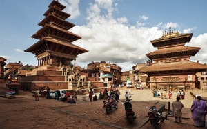 A file photo of Bhaktapur Durbar Square. Bhaktapur Durbar Square Bhaktapur is listed as a World Heritage by UNESCO.