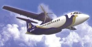An aircraft of Buddha Air. Photo: File photo