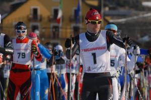 Atleti alla partenza della MarciaGranParadiso (Photo courtesy of www.marciagranparadiso.it)