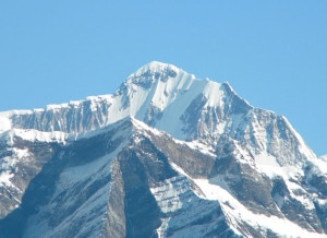 Mount Saipal located in western Nepal. Photo: File photo