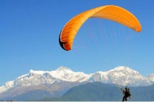 Paragliding in Nepal. photo: File photo