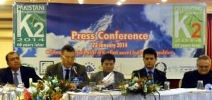 Conferenza di presentazione delle celebrazioni del 60esimo del K2