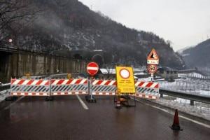 Photo of Frana in Alto Adige, statale del Brennero chiusa per 3 settimane