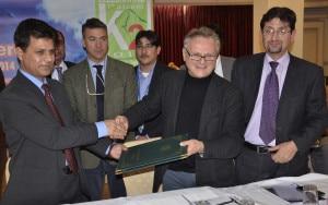 Da Polenza e Saeed Akhtar Secty Tourism GB alla Conferenza di presentazione delle celebrazioni