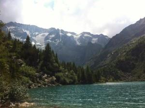 Lago Aviolo nel Parco dell'Adamello