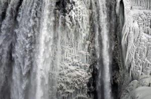 Photo of Freddo polare negli Stati Uniti: ghiacciate le Cascate del Niagara