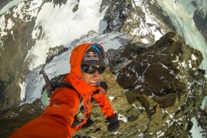 "Photo of ""Cerro Torre"". David Lama e la prima ascensione in libera della Via del Compressore"