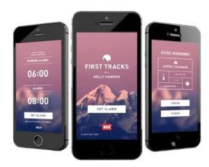 Photo of La sveglia suona solo se nevica: arriva l'App per gli amanti della polvere
