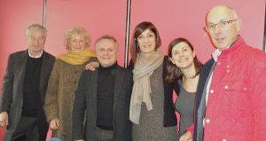 An Executive Committee of Foundation with its president Agostino Da Polenza (third from left). Photo: fondationchamoux.com