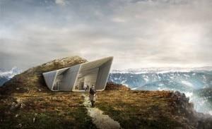 Photo of Scavato nella roccia di Plan de Corones, le immagini dell'ultimo Museo di Messner