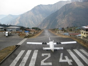 File photo of Tenzing Hillary Airport. Photo: agency