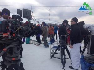 """Photo of Majella, set sulla neve per """"Un medico in famiglia"""""""