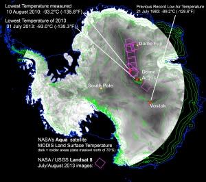 Photo of 93,2 gradi sottozero: è la temperatura più bassa registrata sulla Terra