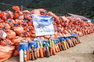 Photo of (English) Case filed against Everest cleaning campaigners for irregularities