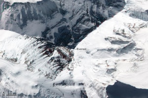Photo of Satelliti Nasa fotografano Everest e altri ottomila dell'Himalaya