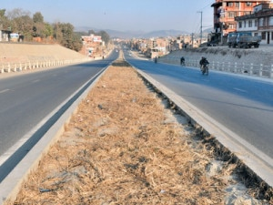 A newly constructed road in Kathmandu. Photo: NMF