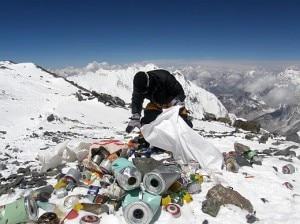 Photo of (English) All want waste-free Himalayas