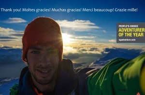 Photo of Kilian Jornet Burgada è l'Adventurer of the Year