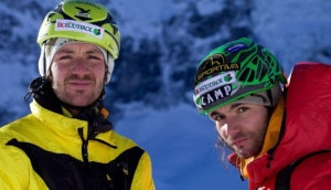 Photo of I fratelli Riegler controfigure per il film dell'Everest