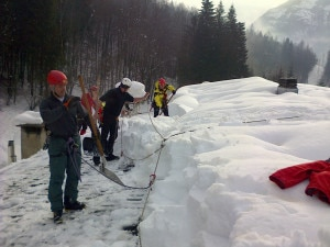 Emergenza neve (Photo Soccorso alpino veneto)