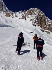 Photo of Valanga sulle piste di Cortina: ecco le immagini