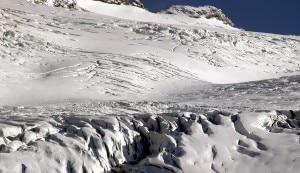 Photo of Scialpinista cade in un crepaccio del ghiacciaio del Rutor: salvo