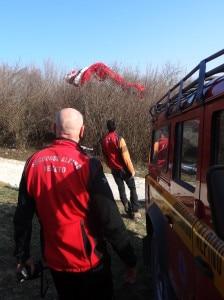 Photo of Doppio incidente sul Monte Grappa, soccorse tre persone