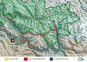 I trekking in programma nel Parco del K2