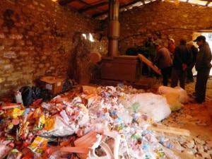 Lo smaltirore di rifiuti di Namche Bazaar