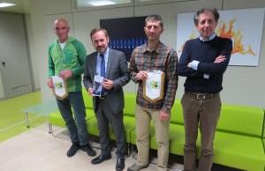 Panzeri e Bernasconi presentano a Lecco la spedizione al Talung (Photo courtesy of Lecconotizie.com)