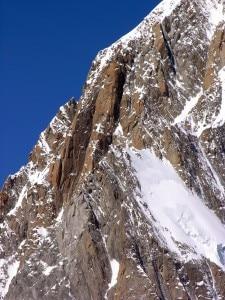 Pilone Centrale del Freney al Monte Bianco (Photo Antonio Giani Summitpost.org)