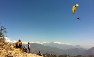 File photo of paragliding in Nepal.