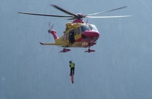 Photo of Cade in canalone della Valle Gesso, scialpinista ferita sull'Argentera
