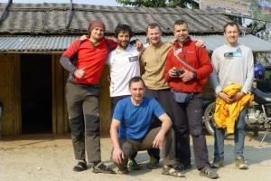 Bielecki, Txikon, Urubko, Sinev, Braun e Petrow (Photo facebook Adam Bielecki)