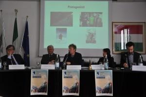 Photo of Honnold giurato del Trento Film Festival 2014, presenti anche Lama, Ondra e Moro